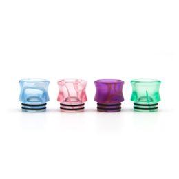 810 TFV8 Acrylique Drip Tip Vase Forme TFV12 Prince Résine Astuce En Gros Résine Époxy Embouchure pour 810 Réservoir ? partir de fabricateur