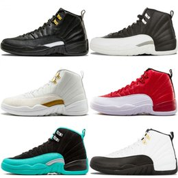 323111c8907419 Top Quality 12 OVO White Gym Red Dark Grey 12S Basketball Shoes Men Women  Fashion Luxury Taxi Blue Suede Flu Game CNY Sneakers 41-47