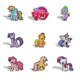 My Little Horse Cartoon Magnets Réfrigérateur PVC White Sticker Bien fait Autocollant Belle Note de papier Accueil / Cuisine / Décor de voiture Kid Faveur Jouet Cadeau ? partir de fabricateur
