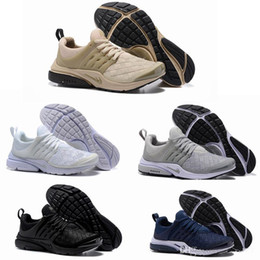 Wholesale Navy Blue Men Boots - 2018 New Presto Ultra SE Woven Midnight Navy Wolf Grey Sand Women Mens Basketball Running Designer Shoes Trainers Sneakers