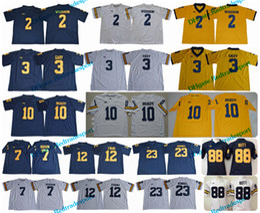 Wholesale Black Evans - Michigan Wolverines 2 Charles Woodson 10 Tom Brady 3 Rashan Gary 88 Jake Butt 12 Evans 23 Tyree Kinnel 7 Hudson College Football Jersey