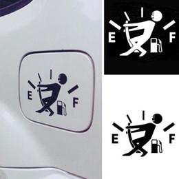 10 CM * 14 CM Lustige Auto Aufkleber Hohe Gasverbrauch Aufkleber Kraftstoff Gage Leere Aufkleber Vinyl JDM Auto Aufkleber Auto Styling von Fabrikanten