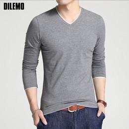 camisa blanca del cuello de los hombres v Rebajas Alta calidad nueva marca  de moda camiseta fd4e8d6afdeee
