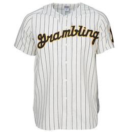 Бейсбольные штаты онлайн-Grambling State College 1963 Home Baseball Jersey Doulble Stiched Логотипы Название Номер Настраиваемый Для Мужчин Женщин Молодежь