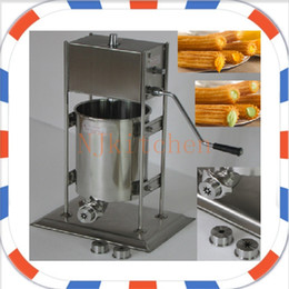 Wholesale Deep Fryer Electric - NP-16q Free Shipping Commercial Use Manual 5L Spanish Churros Maker Machine + 6L 110v 220v Electric Deep Fryer with CE Certification