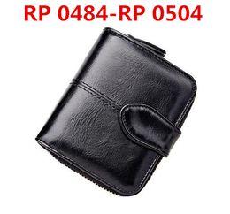 Wholesale Mens Orange Wallet - RP 0484-RP 0504 Promotion new mens top Wallet Men 2018 Brand Wallet new women Men's Pouch Short Men Wallet Free shipping