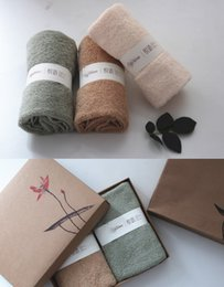 Wholesale Business Meeting Gifts - Pure cotton absorbent towel 2 gift boxes return gift, business advertisement annual meeting, welfare custom wholesale.