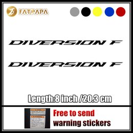 Wholesale Yamaha Tank Decals - motorcycle bike Fuel tank Wheels Fairing notebook Luggage helmet MOTO Sticker decals For Yamaha Diversion F LOGO