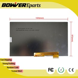 """Wholesale 7inch Display Panel - A+ 7inch LCD Display Matrix For 7"""" Allview AX4 Nano Plus Tablet 163*97mm 30PIN inner LCD Screen Module Glass Panel"""