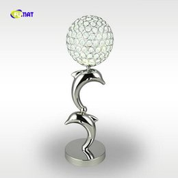 Wholesale metal forges - Cute design crystal table lamps lustres table light Dia15*H48cm bedroom beside lampe