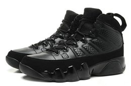 Wholesale Free City Shoes - Top Quality 9 Bred Men Basketball Shoes 9s IV 9 black Anthracite University red Sports Shoes City Of Flight Sneaker Athletics free shippment