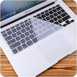2019 macbook pro letras Cubierta de teclado Material de silicona del arco iris para Mac Air Pro Retina pulgadas Impermeable a prueba de polvo para EE. UU. Versión de la UE