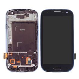 Argentina Reemplazo original del digitizador de la pantalla táctil de 5pcs / Lot Lcd para la pantalla LCD del Samsung Galaxy S3 i9300 i9305 Suministro