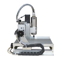 Wholesale Lathes Milling Machines - LY CNC 3020 Z-VFD 800W 3 axis water cooling mini CNC engraver router wood lathe cutting milling machine