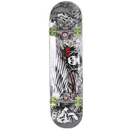 Staffe di legno online-WH521 Skateboard in legno a quattro ruote in legno puro Seagull Bracket longboard skateboard in acciaio cromato 2 colori
