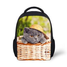 Cute Animal Pet Cat Dog Print School Bag for Baby Small Princess Girls  Kindergarten Schoolbag Cute Child Book Bags Kids girls backpacks for school  dog ... 0f9bec3fc4a04
