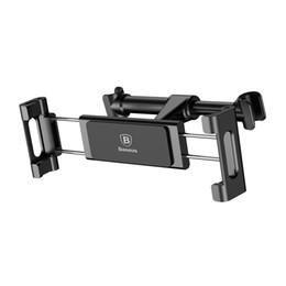 Baseus Rücksitz Autohalterung Für iPhone 7 8 X Einstellbare Kfz Halterung Für iPad Tablet Samsung S8 Rücksitz Klammern von Fabrikanten