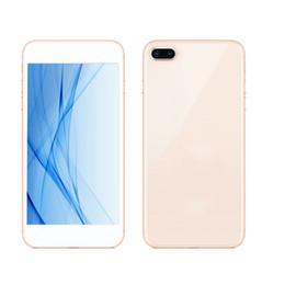I8 phone онлайн-i8 Plus I8plus Android 5,5-дюймовый четырехъядерный MTK6580 1GRAM 4G ROM 8MP камера 3G показать поддельные 4G LTE разблокирован телефон герметичная коробка