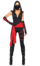 Frete Grátis Nova lingerie sexy cosplay Halloween Hokkaido Ninja Guerreiro Guerreiro Gladiador Mascarado Menina Cosplay Anime Jogo Uniforme cheap warrior games de Fornecedores de jogos guerreiros
