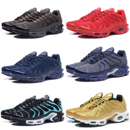 Wholesale Fashion Cakes - New Running Shoes Men TN Shoes Sell Like Hot Cakes Fashion Increased Ventilation Casual Shoes Olive Cargo GS Sneakers Shoes, Free Shipping