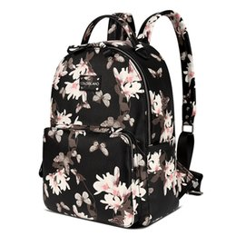 Discount bag for mommy - COLORLAND PU Waterproof Multifunctional Nappy Bags Maternity Changing Bag Wet Infant For Mommy Daddy Backpack Diaper Bag