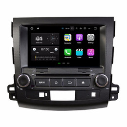 """Wholesale Mitsubishi Charger - 8"""" Android 7.1 Car Radio DVD GPS Multimedia Head Unit Car DVD for Mitsubishi Outlander 2006-2012 With 2GB RAM Bluetooth WIFI Mirror-link"""