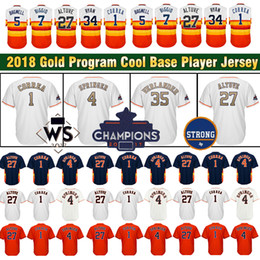 Wholesale Houston Black - Houston Men Jersey 27 Jose Altuve 4 George Springer 1 Carlos Correa 5 Jeff Bagwell 34 Nolan Ryan Jerseys