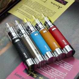 Kit E-sigaretta IP6 Starter Kit cera Amazing Sapore Wax Pen Ceramic Coil Fast Heating Vape Pen Dry Herb Vaporizzatore Kit portatile all'ingrosso da