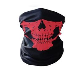 Radfahren kostüm online-Freie Verschiffen-Großverkauf-im Freien nahtlose vielseitige magische Schädel-Schal-Gesichtsmaske-Radfahrenreitmasken warmer Halstuch Halloween-Kostüme