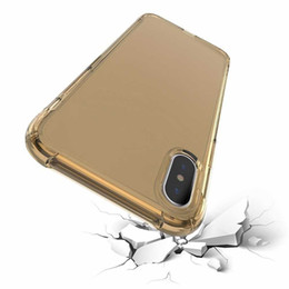 Wholesale air sound - Air cushion shockproof gel tpu sound switching speaker transparent phone case anti shock cover for iphone x 6 7 8 plus s8 R11 2018
