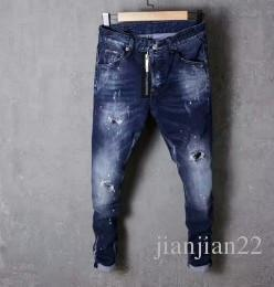 Wholesale Fashion Foot Wear - Really making a burst models fashion wild jeans male micro-bomb washable worn Slim micro-elastic new feet pants