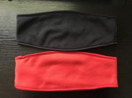 Bandeaux en molleton en molleton noir rouge pour cheveux avec bandeau 100% haute qualité Livraison gratuite ? partir de fabricateur