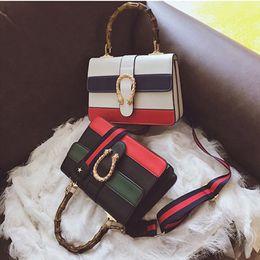 f206b2c4f3 New Women Messenger Bag Women Designer Handbag Shoulder Bag Cross Body Bag  Tote Bags with Bamboo Handle Fashion High Quality