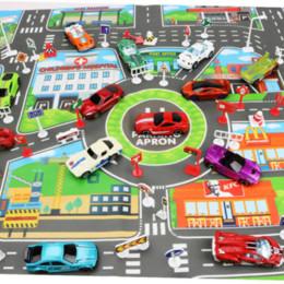 Enfants Trafic Chemins Jouant Mat Jouets Voiture Ville Parking Carte Version Anglaise Ville Parking Carte pour Enfants Ply Voitures ? partir de fabricateur
