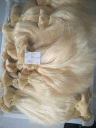 Argentina Marca de Elibess - 300 gramos de la trama del pelo 100% pelo humano Blonde 613 # color Bulto europeo del pelo sin trama, DHL libre Suministro