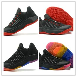 Wholesale Fabric Shine - 2018 High Quality Paul George PG 2 Basketball Shoes Black Wholesale PG 2 Zoom Low Cut Ferocity Shining Trainer Sneaker