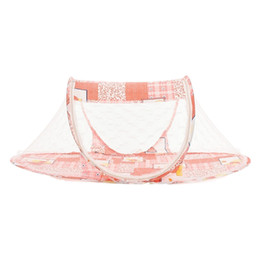 1 X Portable Baby Kid Mosquito Net Infant Travel Bed Crib Canopy Net Tent Orange  sc 1 st  DHgate.com & Shop Portable Crib Tent UK | Portable Crib Tent free delivery to ...