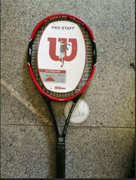 Wholesale Carbon Material - Free Shipping Tennis Racket raquete de tennis Carbon Fiber Top Material tennis string raquetas de tenis