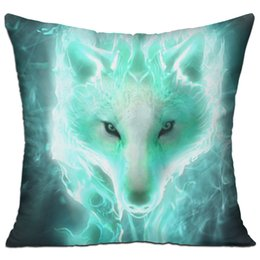 Wholesale Wolf Pillows - Cool wolf Hold pillow modern standard pillow case 100% cotton
