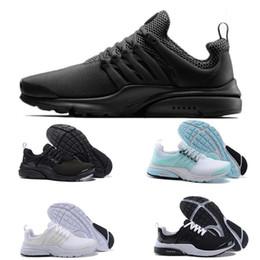 14d1fdd35 Nike Air Presto Running Shoes 2017 Atacado New Design Sport Sapatos de  corrida Boost Branco Preto Vermelho Azul top qualidade Air Presto Ultra  sneaker ...