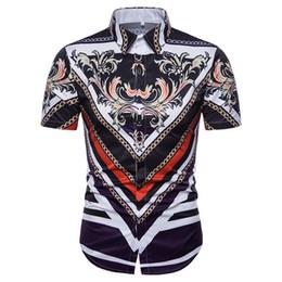 Wholesale Funny Polo Shirt - Famous Brand Men Polo Shirts Vintage Fashion Printed Shirts m Short Sleeve Casual Shirts Hip Hop T Shirt Kanye Funny CottonTops FreeShipping