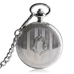 TOP Ventas Plata Steampunk Esqueleto Automático Reloj de Bolsillo Mecánico con Cadena Erkek Kol Saati Relojes Hombres Unisex Regalos Reloj desde fabricantes