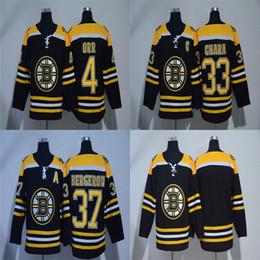 Cheap 2018 New Brand AD Mens Boston Bruins 33 Zdeno Chara 37 Patrice  Bergeron 4 Bobby Orr Blank Black Stitched Ice Hockey Jerseys 228a9c61e