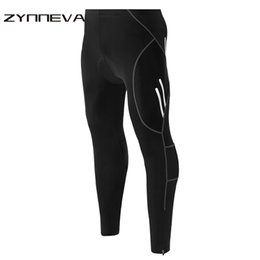 Gel pantalone mtb online-ZYNNEVA 2018 Nuovi Pantaloni da corsa da uomo Quick Dry Primavera Estate Mountain MTB Bike Pad in gel Pant Bicycling Pants Pantaloni MB01P