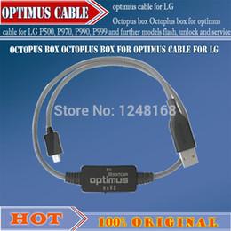 Desbloqueio de flash box on-line-gsmjustoncc caixa de polvo caixa octoplus para o cabo optimus para LG P500 P970, P990, P999 e outros modelos de flash, desbloquear e serviço