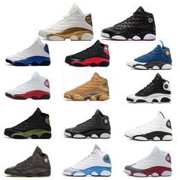 timeless design 5b478 c6b7a Basketballschuhe 13 13s Sneakers Trainer mit Chicago 3M GS Hyper Royal  Bordeaux DMP Weizen Olive Elfenbein Mangel Herren Sportschuhe Größe 8-13