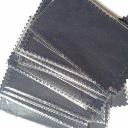 Deutschland 925 Silber Poliertuch plastiktüten für Perle Goldenen Schmuck Ringe notwendigkeit Qualität 4 * 8 cm cheap necessities bag Versorgung