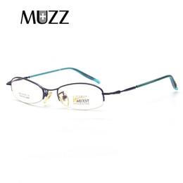 def7a9cdaa 2019 lunettes de lecture qualité optique MUZZ Petit Cadre De Lunettes Ultra  Léger Hommes Myopie Lunettes