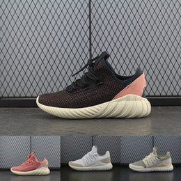 Wholesale Men Size 13 Casual Shoes - .2018Tint 350 V2 Boost Shoes Moonrock Black 350 V1 Boosts Mens Shoes Size 13 Casual 2018 Running Shoes Sneakers Zebre Oreo Bred
