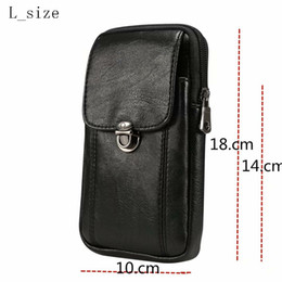 Lg celular carteira on-line-Universal PU Leather Cell Phone Bag Ombro Pocket Wallet Bag Caso Alça De Pescoço Para Samsung / iPhone / HTC / LG / Sony / Lenovo etc